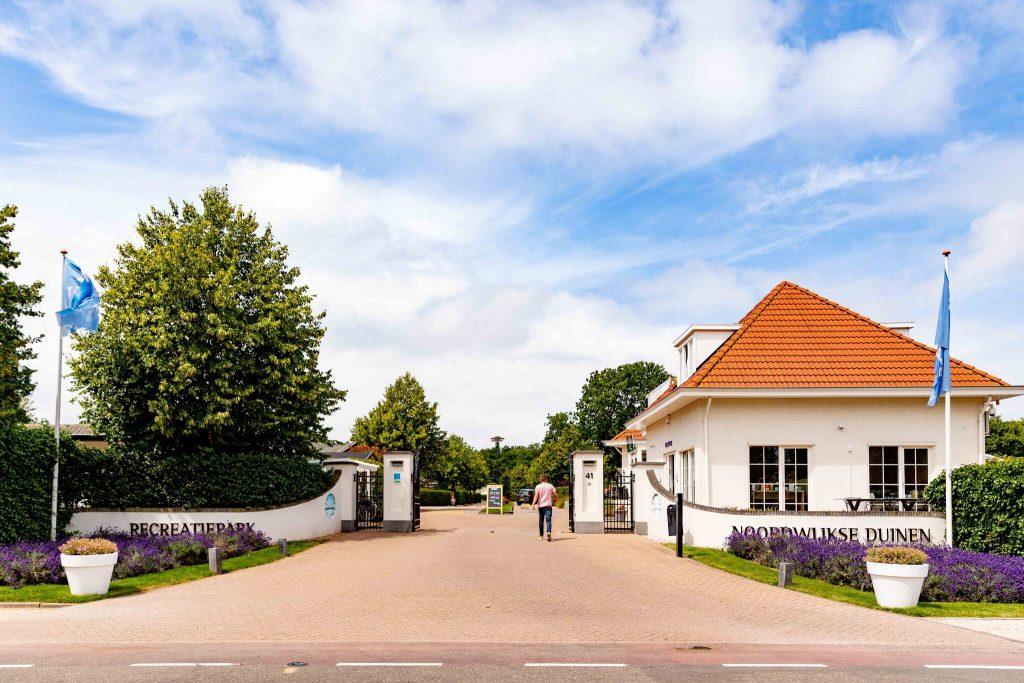 Recreatiepark Noordwijkse Duinen ingang