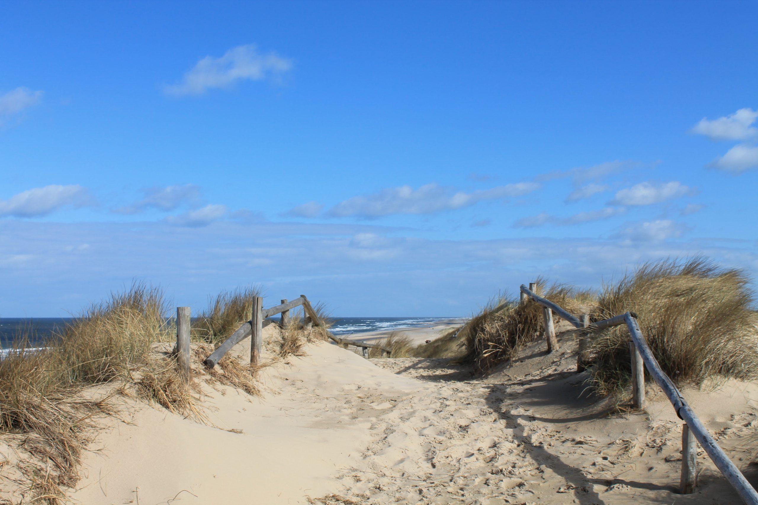 Noordwijk Strand duinen